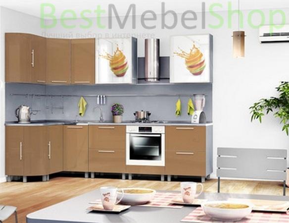 Фото Кухня Анна капучино. Купить с доставкой