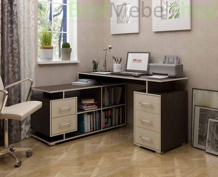 Письменный стол угловой Краст-3