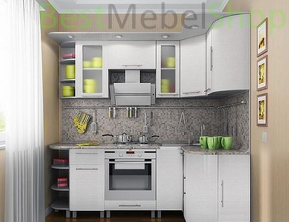 Фото Кухня Анна белый жемчуг. Купить с доставкой