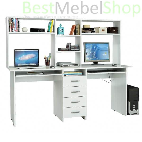 Письменный стол ТАНДЕМ-2П